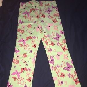 Lilly Pulitzer Pants- size 6. Rare find!!